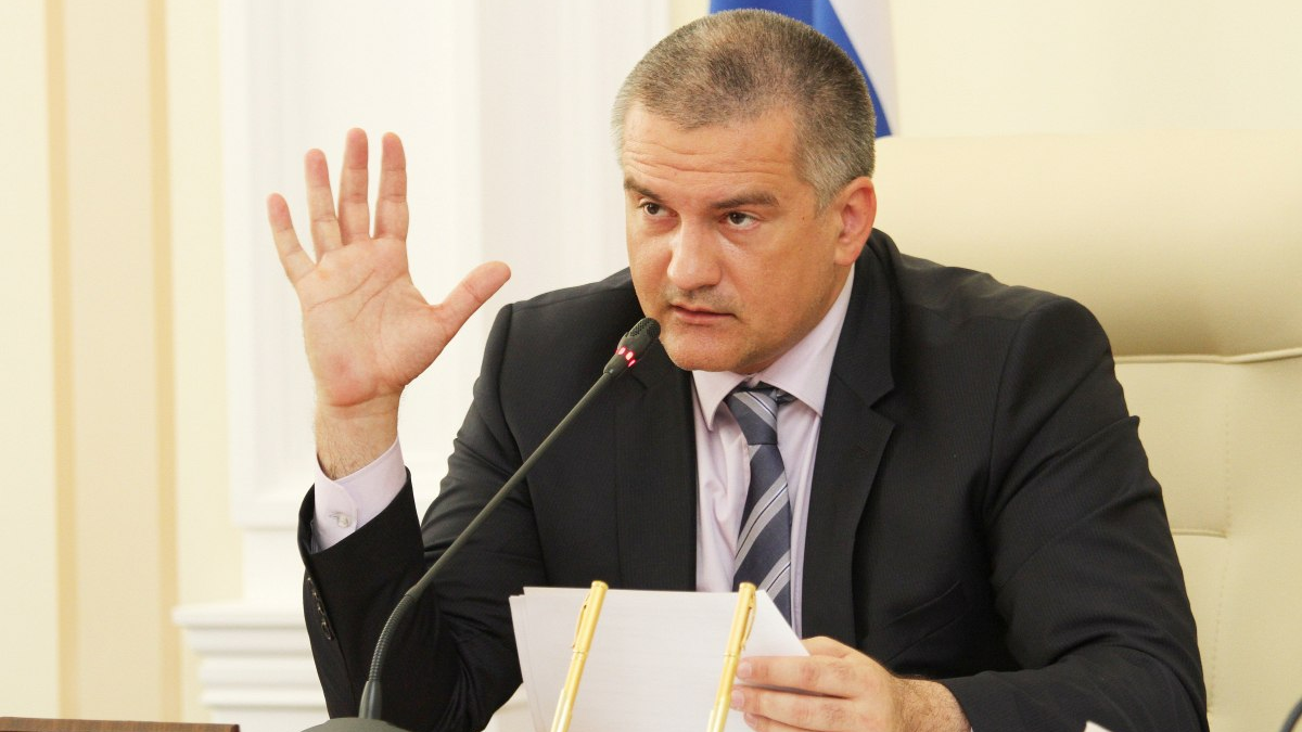 In the occupied Crimea, Aksonov urgently convened a meeting over the coronavirus pandemic