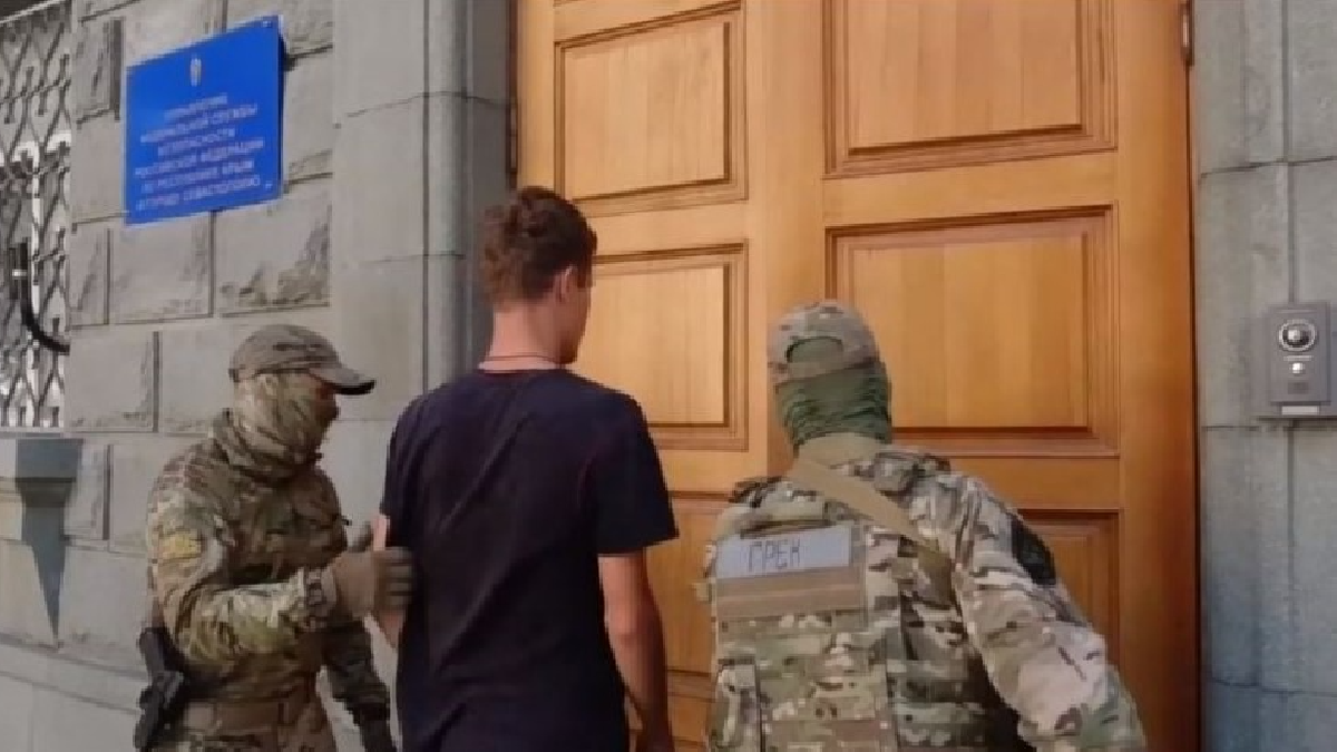 The ARC National Police have opened a case against the occupying security forces, who detained a Ukrainian for allegedly public extremist appeals in Crimea | Update